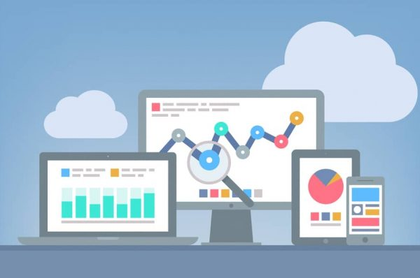 seo and social media data on desktop and mobile